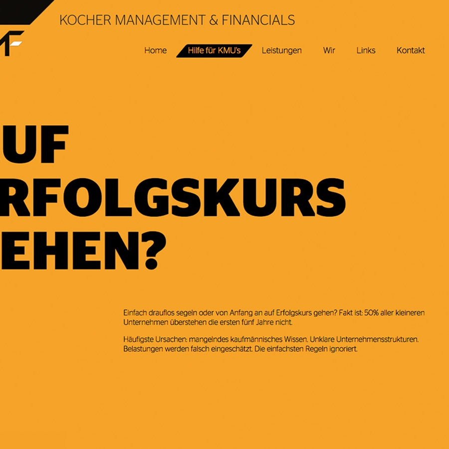 Kocher Management & Financials